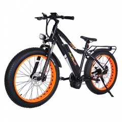 Addmotor MOTAN Electric Bike Bicycle 1000W Power 48V 17.5Ah Средний двигатель 26-дюймовый Fat Tires E-bike M-5800