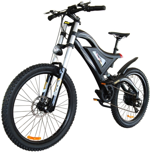 HITHOT H5 Electric Mountain Bike High Fork Suspension for Adult